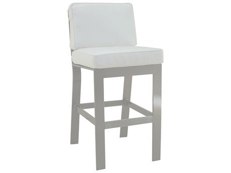 Castelle Trento Cushion Cast Aluminum Bar Stool