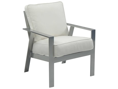 Castelle Trento Cushion Cast Aluminum Dining Chair
