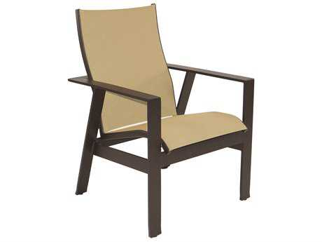 Castelle Trento Sling Cast Aluminum Dining Chair