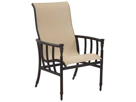Castelle Provence Sling Cast Aluminum Dining Chair
