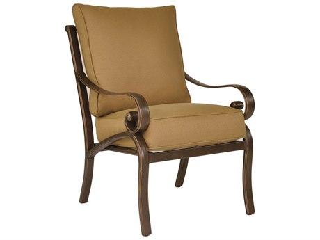 Castelle Veracruz Cushion Cast Aluminum Dining Chair