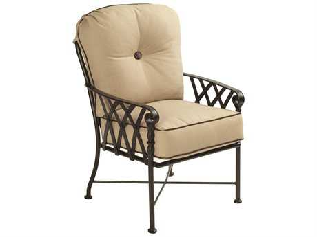 Castelle Veranda Cushion Cast Aluminum Dining Chair