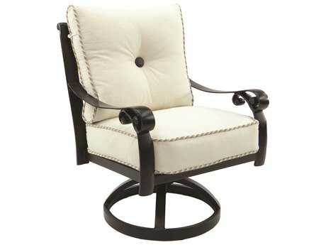 Castelle Bellanova Cushion Cast Aluminum Swivel Rocker