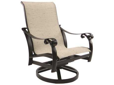 Castelle Bellanova Sling Cast Aluminum Swivel Rocker