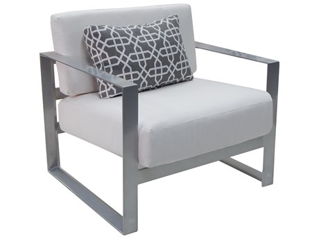 Castelle Legacy Deep Seating Cushion Lounge Chair with One Pillow