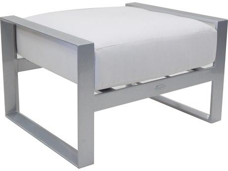 Castelle Legacy Deep Seating Aluminum Cushion Ottoman