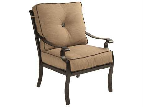 Castelle Monterey Cushion Cast Aluminum Dining Chair