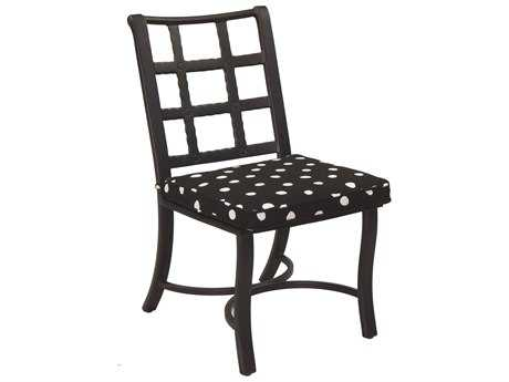 Castelle Monterey Cast Aluminum Armless Dining Chair