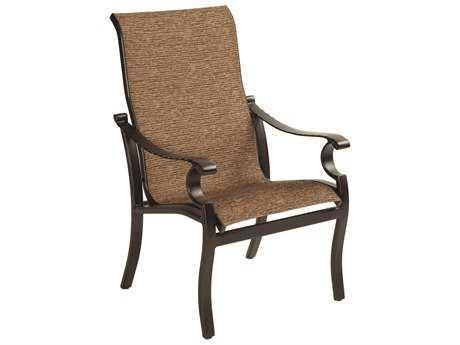 Castelle Monterey Sling Cast Aluminum Dining Chair