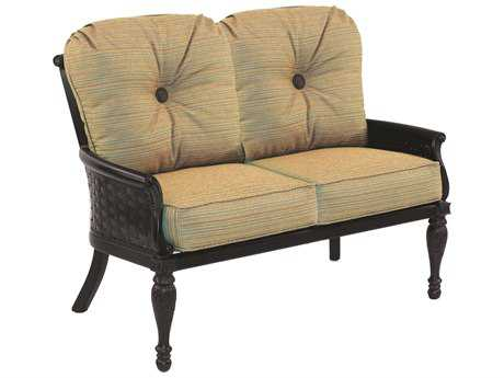 Castelle English Garden Cushion Cast Aluminum Loveseat