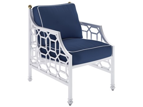 Castelle Barclay Cushion Aluminum Dining Chair