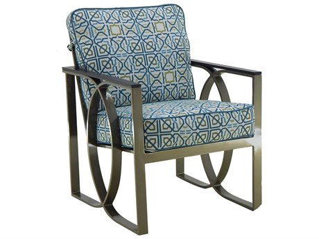 Castelle Hermosa Cushion Cast Aluminum Dining Chair
