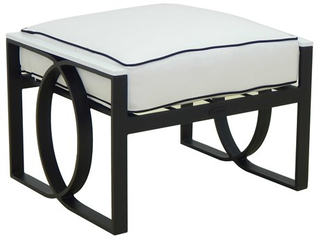 Castelle Hermosa Deep Seating Cast Aluminum Cushion Ottoman