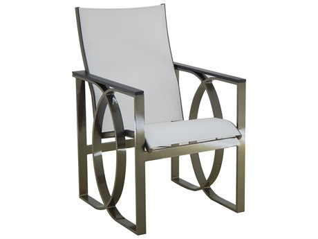 Castelle Hermosa Sling Cast Aluminum Dining Chair
