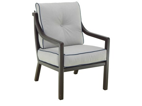 Castelle Legend Cushion Aluminum Dining Chair
