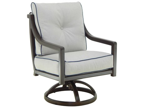 Castelle Legend Cushion Aluminum Swivel Rocker