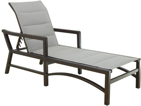 Castelle Legend Sling Aluminum Adjustable Chaise Lounge