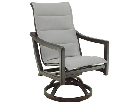Castelle Legend Sling Aluminum Swivel Rocker