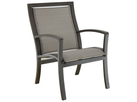 Castelle Napoli Sling Cast Aluminum Dining Chair