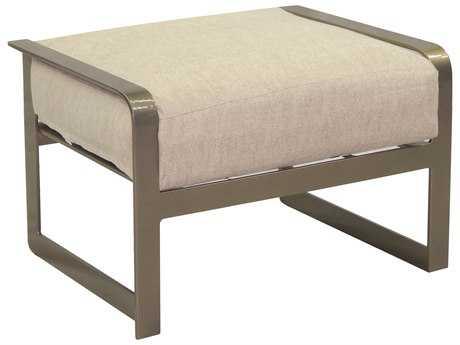 Castelle Solstice Cushion Aluminum Ottoman