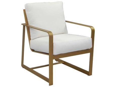 Castelle Solstice Cushion Aluminum Dining Chair