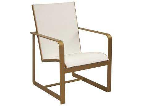 Castelle Solstice Sling Aluminum Dining Chair