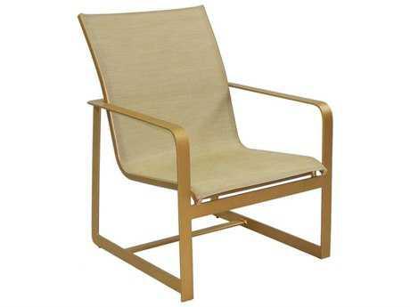 Castelle Solstice Sling Aluminum Lounge Chair