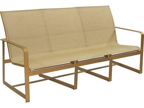 Castelle Solstice Sling Aluminum Sofa