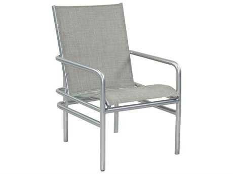 Castelle Helios Sling Aluminum Dining Chair