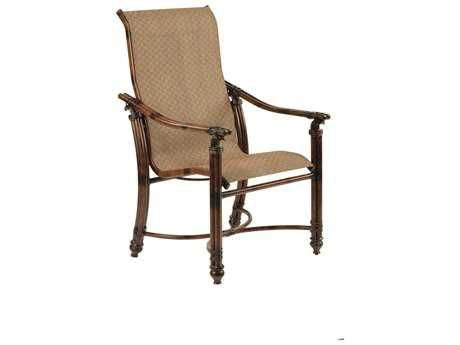 Castelle Coco Isle Sling Cast Aluminum Dining Chair PF8896