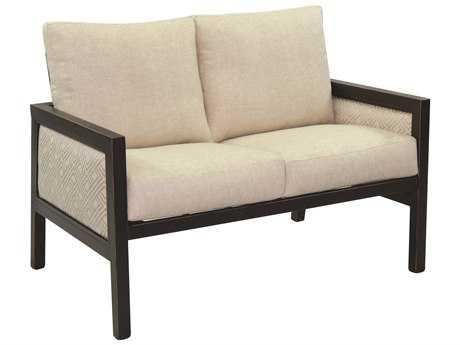 Castelle Gold Coast Cushion Aluminum Loveseat
