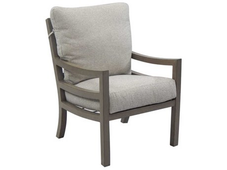 Castelle Roma Cushion Aluminum Dining Chair