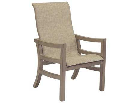 Castelle Roma Sling Aluminum Dining Chair