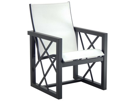 Castelle Barclay Butera Palm Springs Sling Aluminum Dining Arm Chair PF9B75