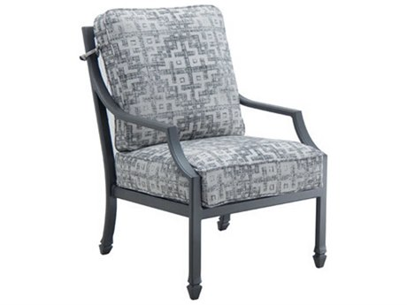 Castelle Lancaster Cushion Aluminum Dining Chair