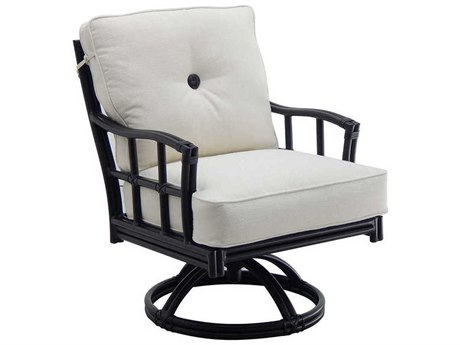 Castelle Resort Fusion Cushion Aluminum Swivel Rocker PatioLiving