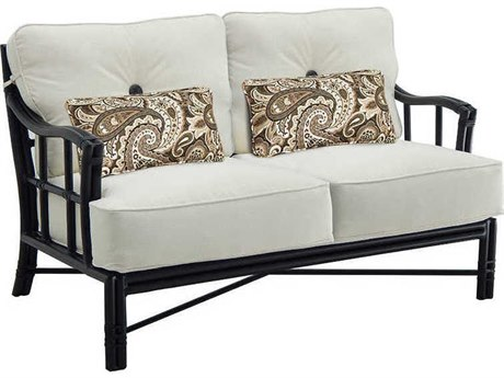 Castelle Resort Fusion Deep Seating Aluminum Loveseat PatioLiving
