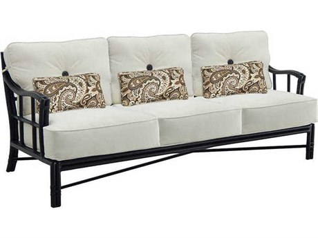 Castelle Resort Fusion Deep Seating Aluminum Sofa PatioLiving