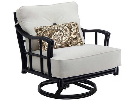 Castelle Resort Fusion Deep Seating Aluminum Lounge Swivel Rocker
