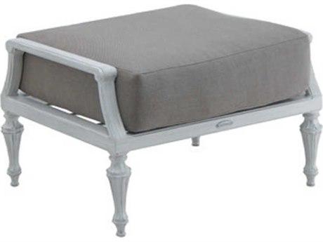Castelle Madeleine Deep Seating Aluminum Ottoman