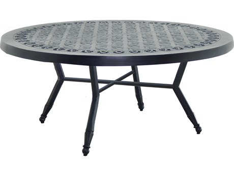 Castelle Biltmore Estate Cast Aluminum 42''Wide Round Coffee Table