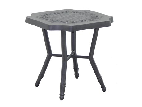 Castelle Biltmore Estate Cast Aluminum 20''Wide Square Side Table