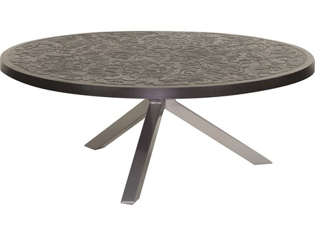 Castelle Altra Aluminum 42 Round Coffee Table
