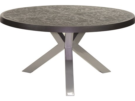 Castelle Altra Aluminum 54 Round Dining Table