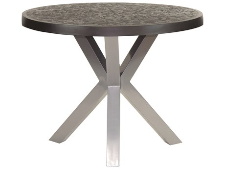Castelle Altra Aluminum 42 - 44 Round Counter Height Table