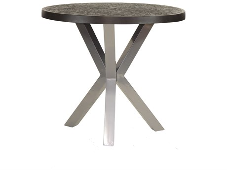 Castelle Altra Aluminum 42 - 44 Round Bar Height Table