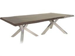 Altra Aluminum 108W x 49-56D Rectangular Dining Table (RTA)