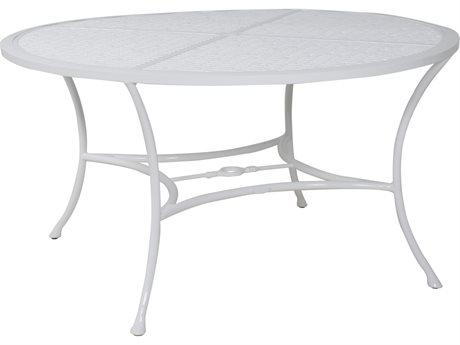 Castelle Barclay Butera Savannah Aluminum 54''Wide Round Dining Table