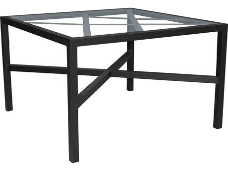 Castelle Barclay Butera Palm Springs Aluminum 44''Wide Square Dining Table PFB9SD44