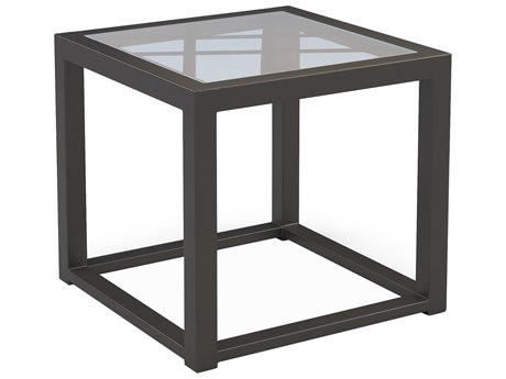 Castelle Barclay Butera Palm Springs Aluminum 20''Wide Square Side Table